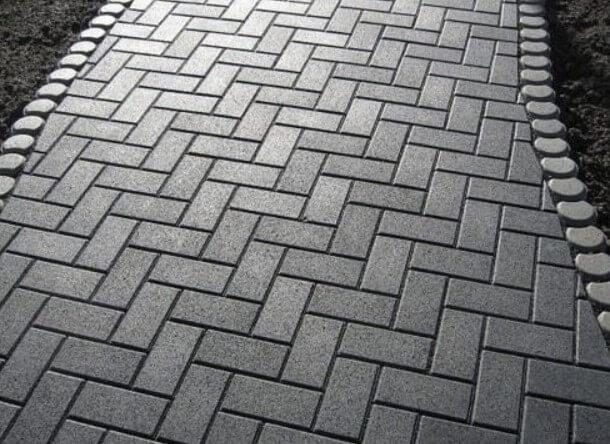 Тротуарная плитка 30мм ФОТО