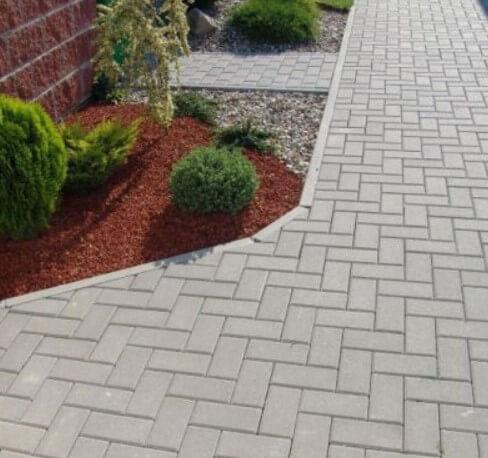 Тротуарная плитка 40мм ФОТО